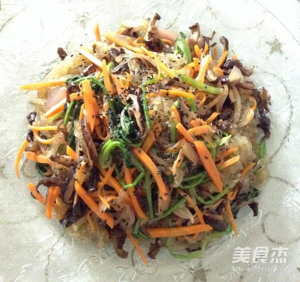 韩式凉拌杂菜怎样做