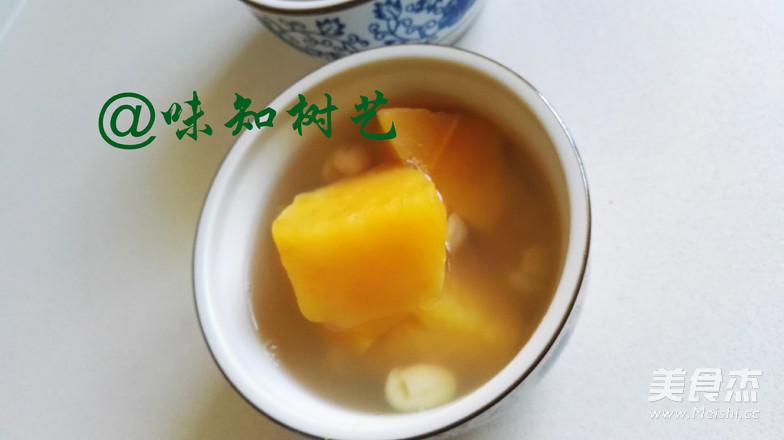 红薯莲子糖水成品图