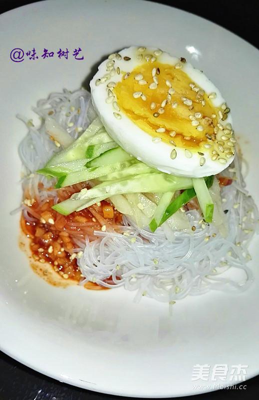 韩式辣酱拌粉丝成品图