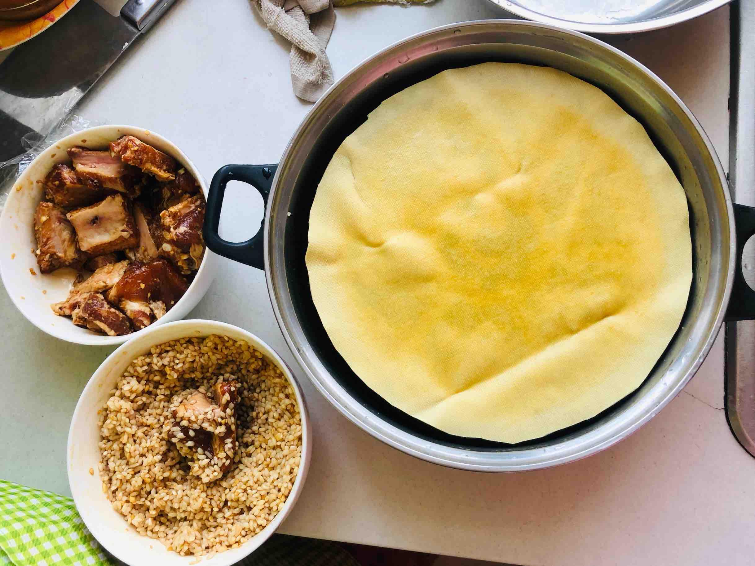 可以舔盘的糯米蒸排骨怎么煮