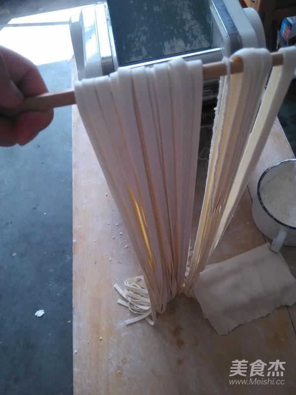 芸豆焖面的简单做法
