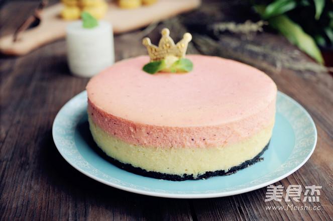 火龙果重芝士双层蛋糕怎样做