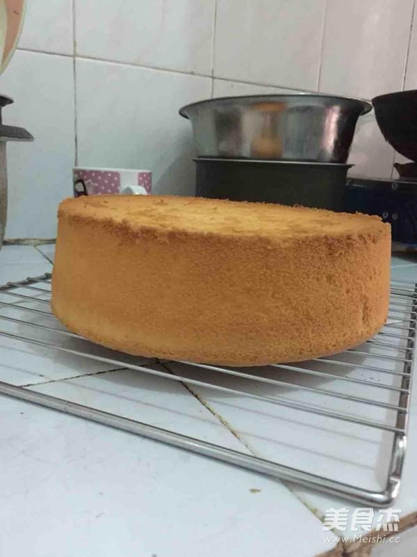 戚风蛋糕(9寸,约3磅)怎么煸