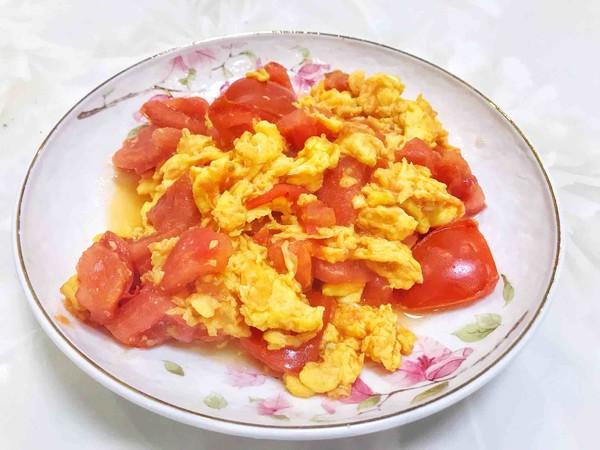 番茄炒蛋怎么吃