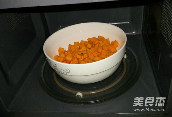 自制紫薯南瓜饼的家常做法