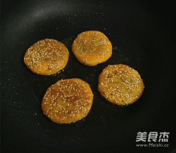自制紫薯南瓜饼的制作