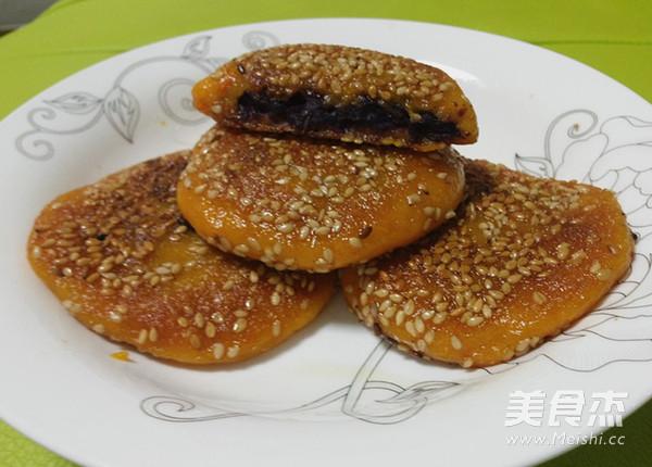 自制紫薯南瓜饼的制作方法