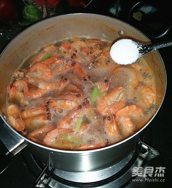 盐水对虾怎么做