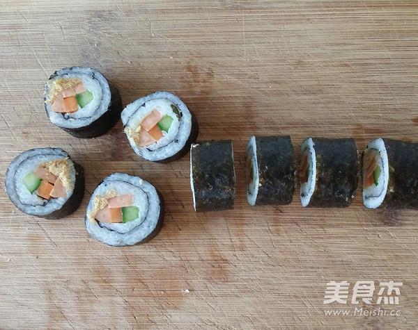 火腿肉松寿司怎么炖