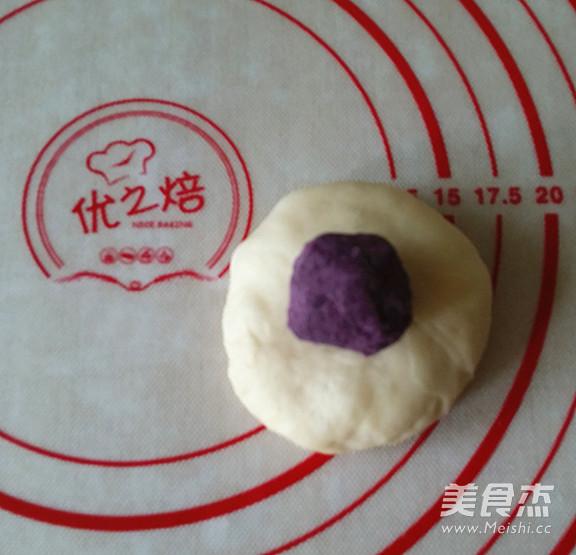 紫薯菊花小面包怎么炖