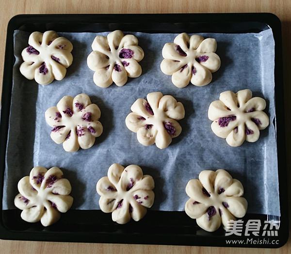 紫薯菊花小面包怎样煮