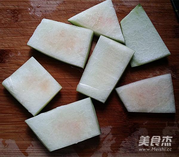 清炒西瓜皮的做法图解