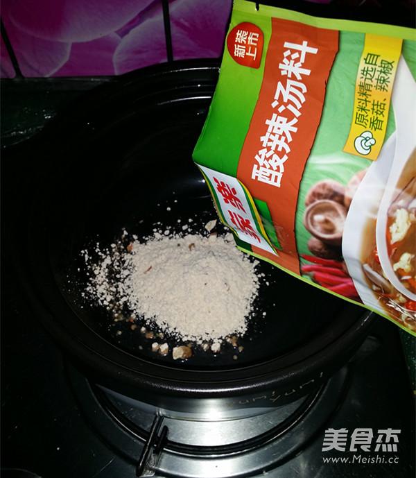 酸辣汤的简单做法