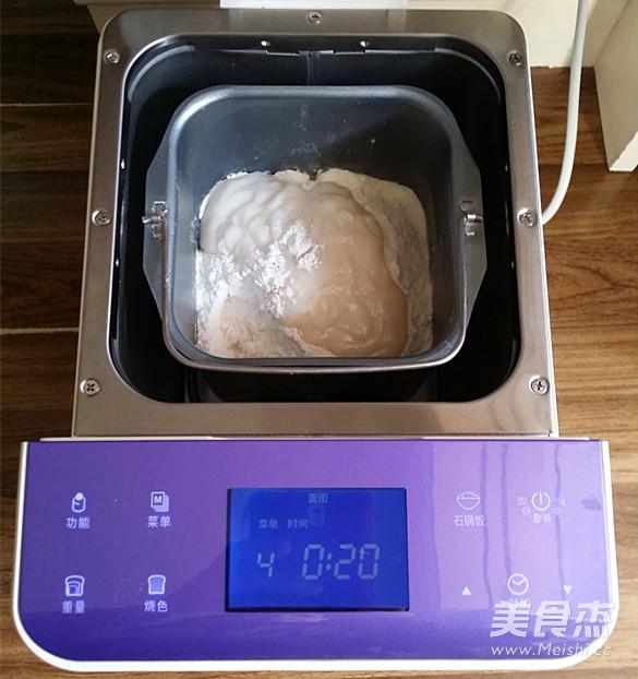 黑芝麻吐司(65度汤种)的简单做法