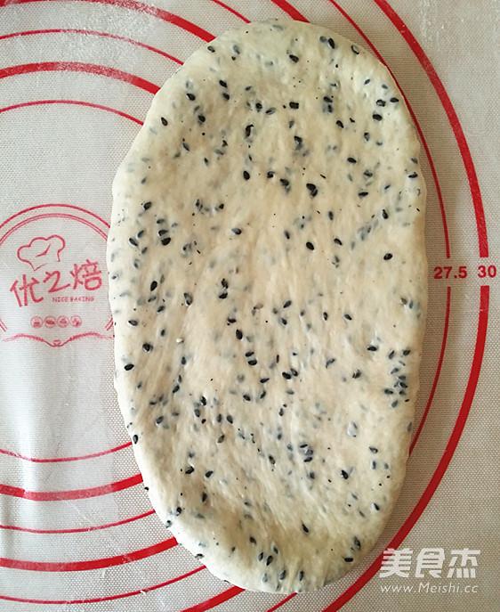 黑芝麻吐司(65度汤种)怎样煸