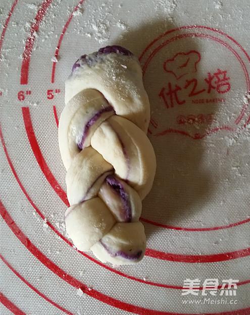 紫薯椰蓉辫子小包怎样煸