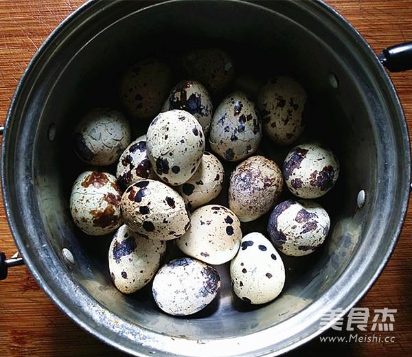 五香鹌鹑蛋的简单做法