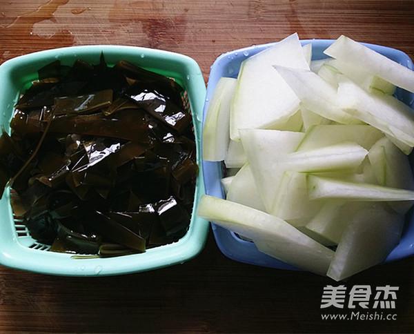 冬瓜海带排骨汤怎么做