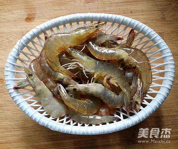 白灼对虾的做法图解