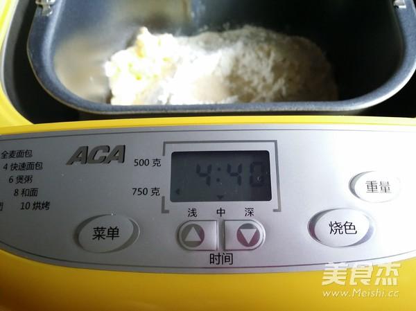 鸡蛋牛奶吐司(一键式)怎么炒
