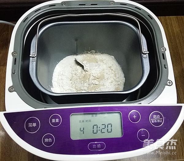 香葱肉松面包卷的做法图解