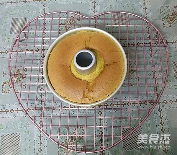 菠菜汁戚风蛋糕的制作