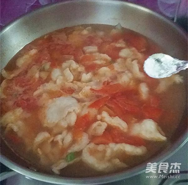 番茄鱼片汤怎么炖