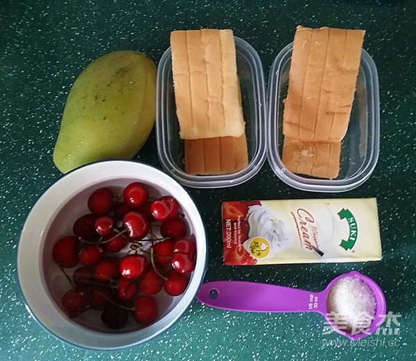 水果奶油盒子的做法大全