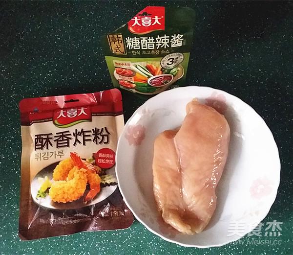 韩国糖醋肉的做法大全