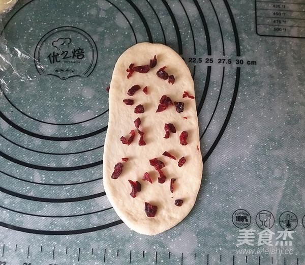 蔓越莓牛奶卷(一次揉面、淡奶油版)怎么煮