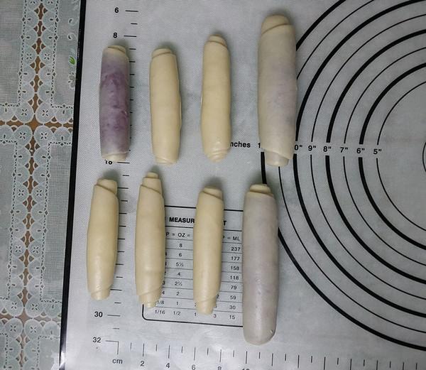 双色蛋黄酥的制作