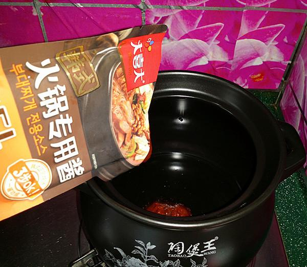 韩式海鲜锅的简单做法