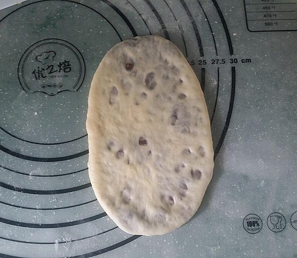 豆沙花面包怎么煸
