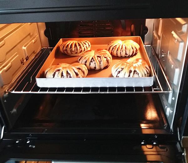 豆沙花面包的制作方法
