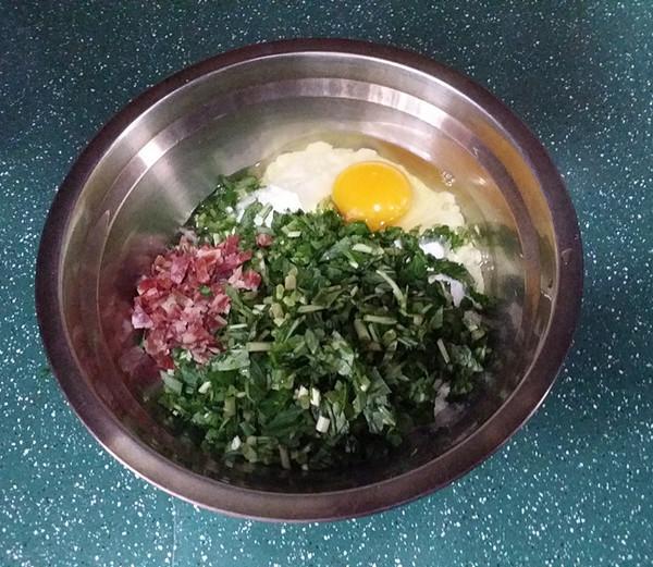 马兰头鸡蛋饼的简单做法