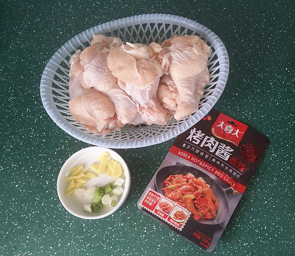 香辣酱烤鸡翅根的步骤