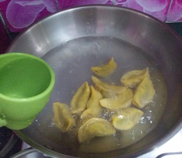 马兰头猪肉南瓜饺怎样煮