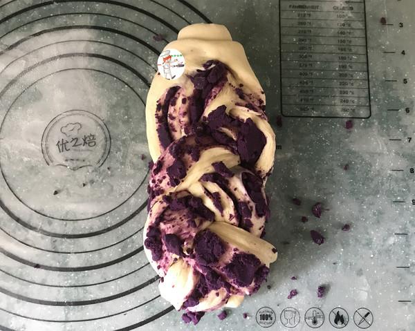 紫薯辫子面包怎样做