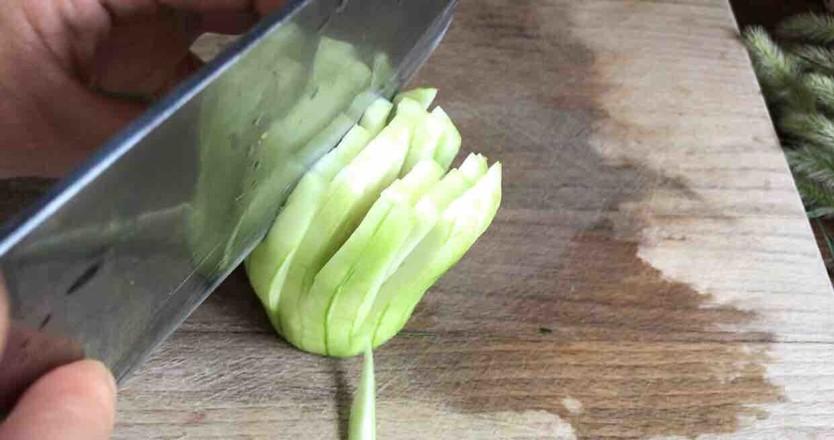 蒜蓉蒸丝瓜的家常做法