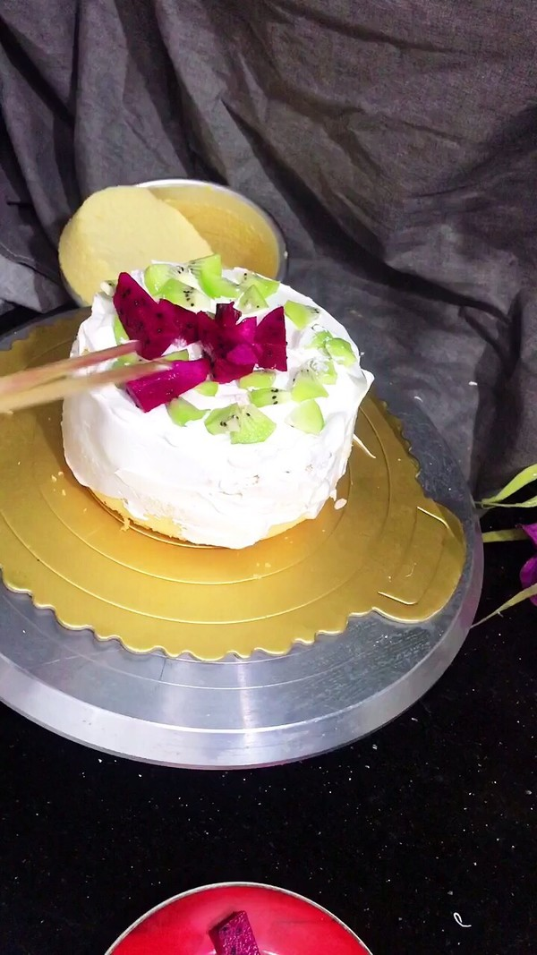 自制生日蛋糕的做法图解