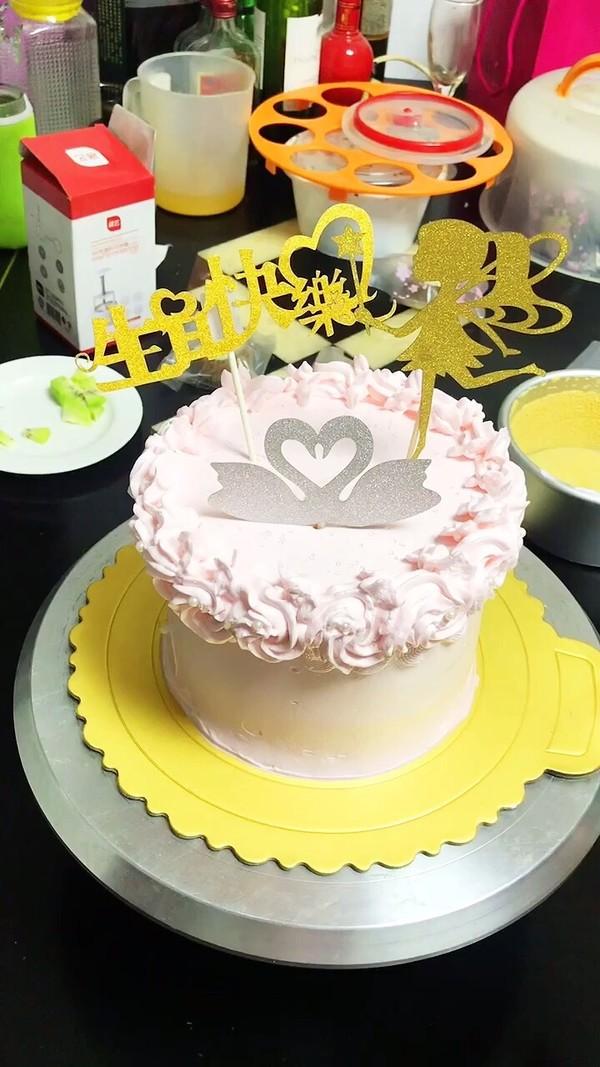自制生日蛋糕怎么吃