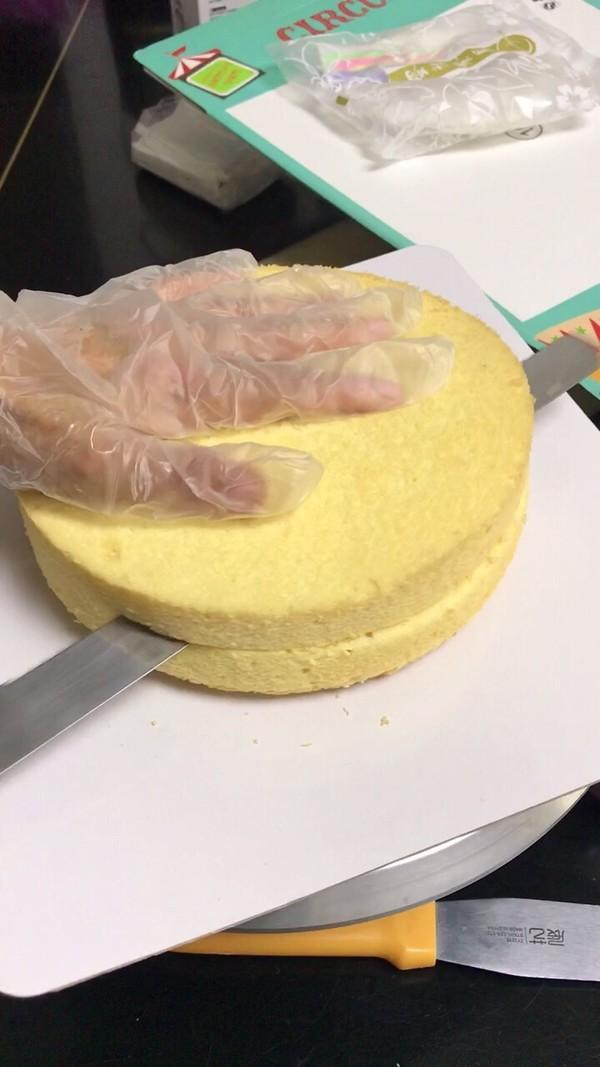 自制水果生日蛋糕的做法大全