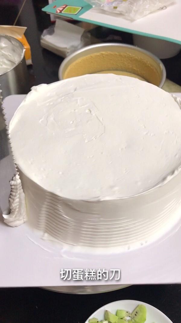 自制水果生日蛋糕的家常做法
