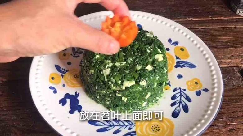 香干拌苕叶的简单做法