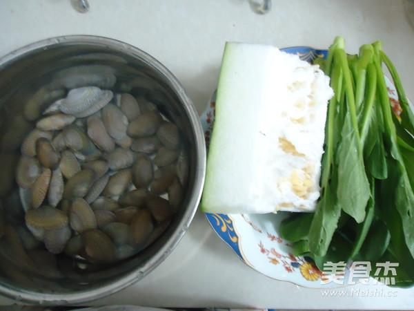 蛤蜊冬瓜青菜汤的做法大全