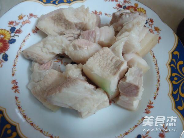 竹笋干焖腩肉的做法图解