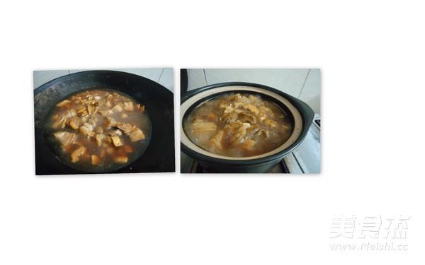 竹笋干焖腩肉的简单做法