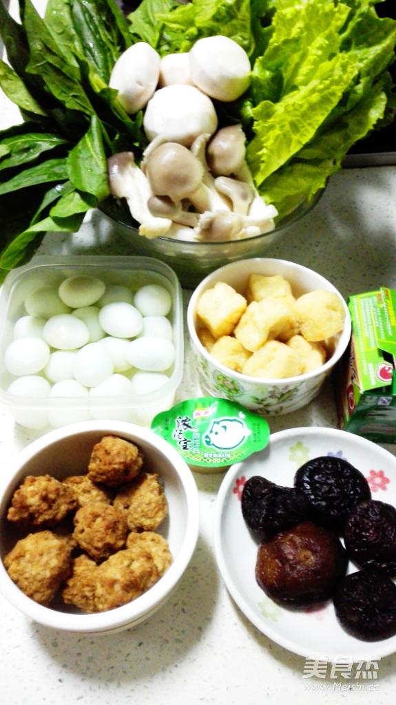 蔬菜菌菇锅的做法大全