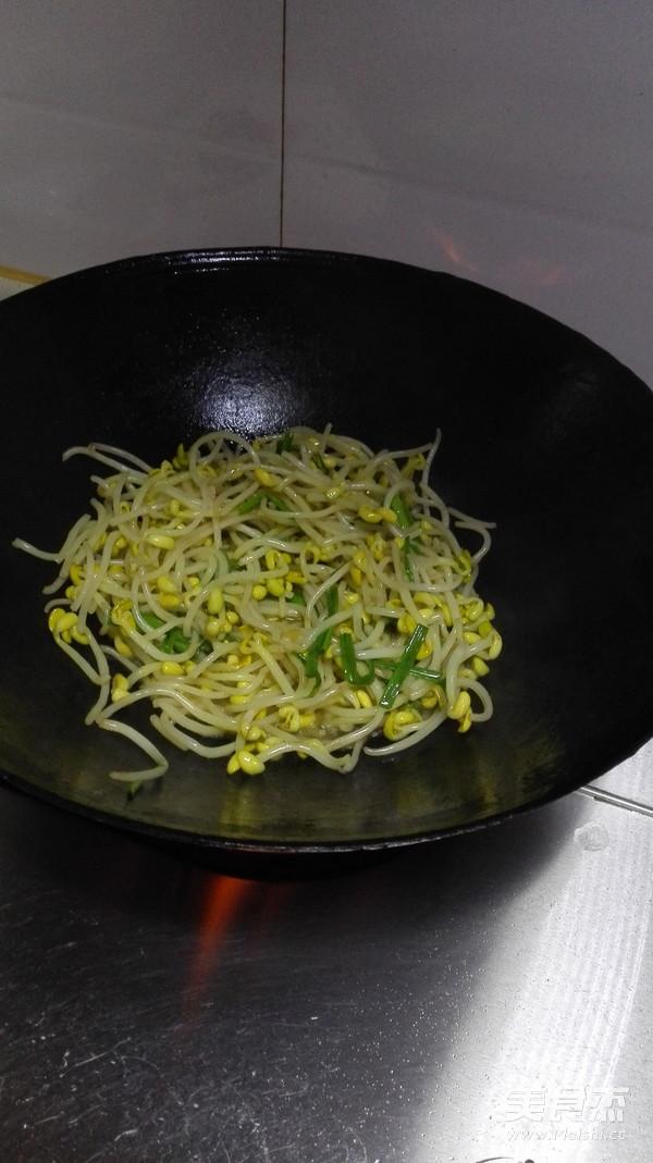 清炒黄豆芽的简单做法
