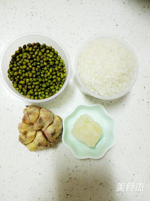 绿豆百合粥的做法大全